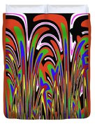 Jancart Drawing Abstract #8455wspc Duvet Cover
