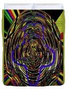 Jancart Drawing Glass 8455dwtpcg Duvet Cover