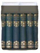 Jane Austain Books Duvet Cover