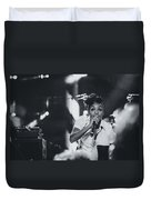 Janelle Monae Playing Live Duvet Cover