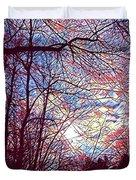 January Beauty 1 Duvet Cover