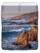 January In Big Sur Duvet Cover