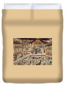 Japan: Kabuki Theater Duvet Cover