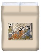 Japan: Lovers Duvet Cover