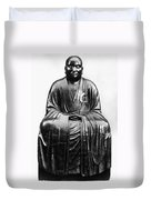 Japan: Zen Priest Duvet Cover
