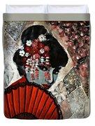 Japanese Art Duvet Cover