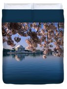 Japanese Cherry Blossoms Prunus Duvet Cover