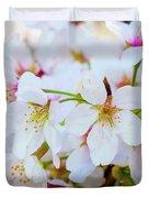 Japanese Cherry Tree Blossoms 2 Duvet Cover
