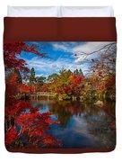 Japanese Foliage Duvet Cover
