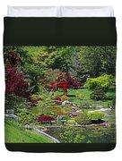 Japanese Garden II Duvet Cover