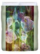 Japanese Iris Tall 2694 Idp_4 Duvet Cover