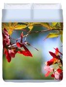 Japanese Maple 1782 Duvet Cover