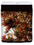 Japanese Maple 2011-1 Duvet Cover