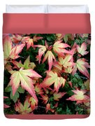 Japanese Maple Duvet Cover by Cynthia Adams