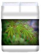 Japanese Maple Foliage Duvet Cover