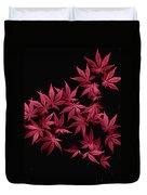 Japanese Maple Leaves Duvet Cover