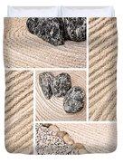 Mineral Garden  Duvet Cover