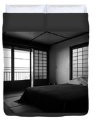 Japanese Style Room At Manago Hotel Duvet Cover
