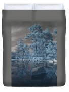 Japanese Tea Garden Infrared Center Duvet Cover