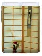 Japanese Tea House Duvet Cover