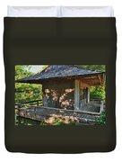 Japanese Teahouse Duvet Cover