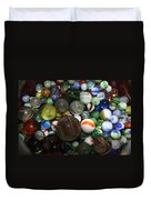 Jar Of Marbles Duvet Cover