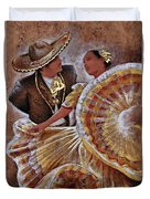 Jarabe Tapatio Dance Duvet Cover
