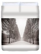 Jardin_du_luxembourg Duvet Cover
