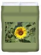 Jarrettsville Sunflowers - The Star Of The Show Duvet Cover
