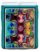 Jars Of Color Duvet Cover