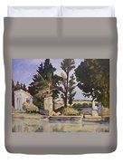 Jas_de_bouffan_after_cezanne Duvet Cover by Don Perino