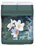 Jasmin Flower Duvet Cover