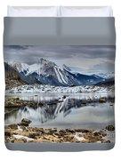 Jasper Medicine Lake Reflections Duvet Cover