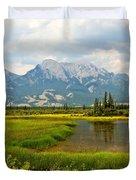 Jasper National Park Duvet Cover
