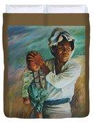 Javanese Woman Duvet Cover