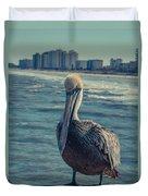 Jax Beach  Duvet Cover