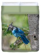 Jay Bird Duvet Cover
