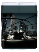 Jay Pritzker Pavilion - Chicago Duvet Cover