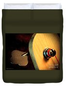Jazz Bass Tuner Duvet Cover