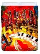 Jazz City Duvet Cover