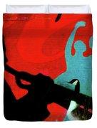 Jazz Goose Duvet Cover