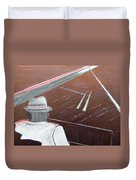 Jazz Pianist At The Brigantine Room Duvet Cover