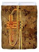 Jazz Trumpet Duvet Cover