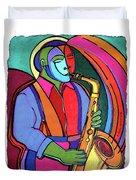 Jazzin #3 Duvet Cover