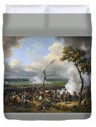 Jean Horace Vernet   The Battle Of Hanau Duvet Cover
