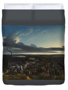 Jean Horace Vernet   The Battle Of Montmirail Duvet Cover