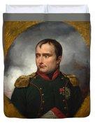 Jean Horace Vernet   The Emperor Napoleon I Duvet Cover