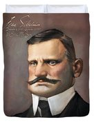 Jean Sibelius Duvet Cover