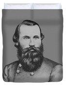 Jeb Stuart -- Confederate General Duvet Cover