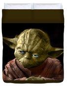 Jedi Yoda Duvet Cover